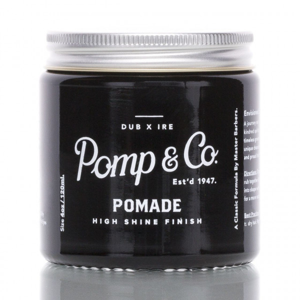 Pomp & Co. Pomade High Shine Finish 120ml