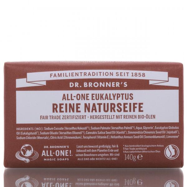 Dr. Bronner's Stückseife All-One Naturseife Eukalyptus 140g