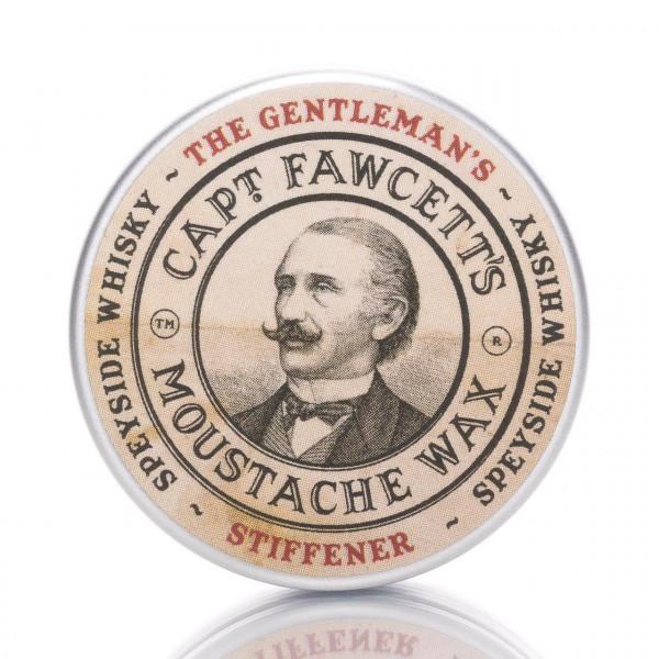 Captain Fawcetts Bartwichse The Gentleman's Stiffener15ml Frontalansicht der Dose
