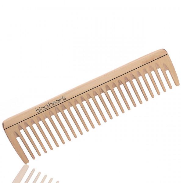 blackbeards Bartkamm aus Ahornholz mit grober Zahnung 1