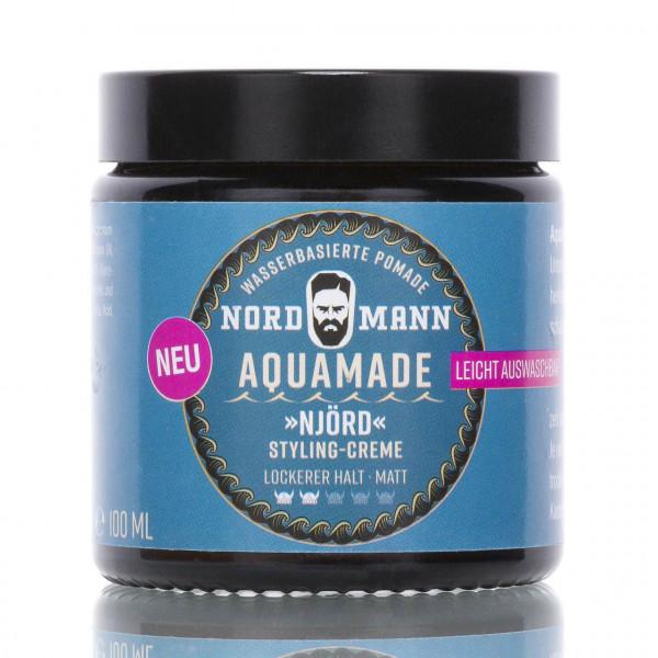 Nordmann Haarpflege Aquamade Njörd 100ml Frontalansicht der Dose