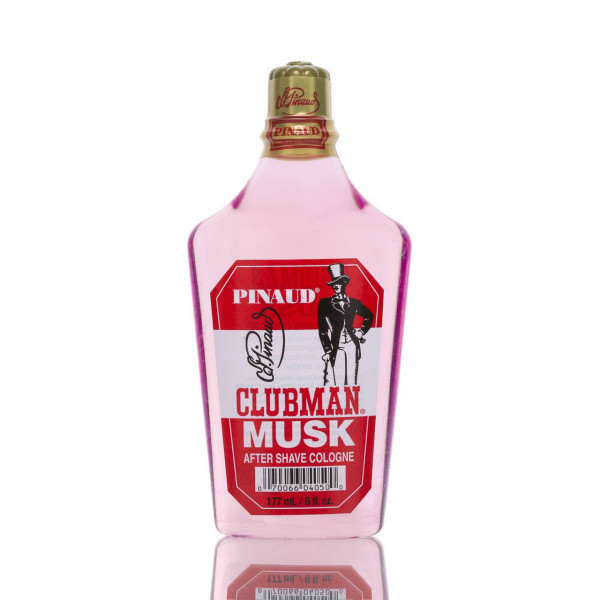 Clubman Pinaud After Shave Rasierwasser & Eau de Cologne Musk 177ml