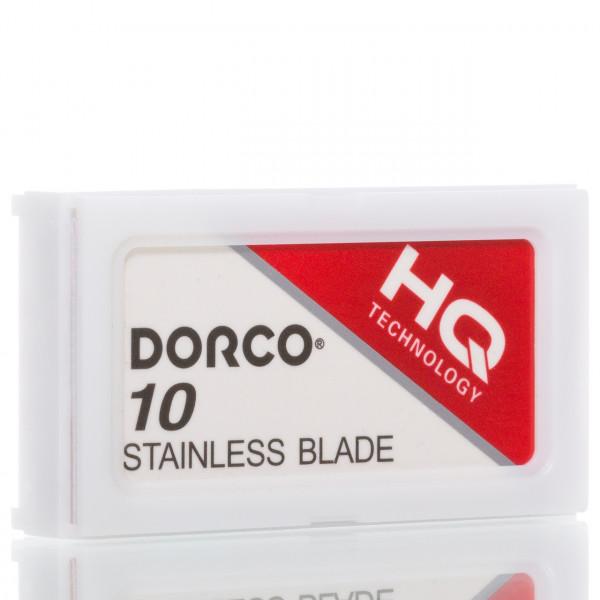 Dorco Rasierklingen Platinum Stainless ST-301, Double Edge (10 Stk.)