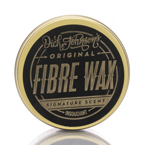 Dick Johnson´s Fiber Wax Insouciant 100ml Frontalansicht der Dose