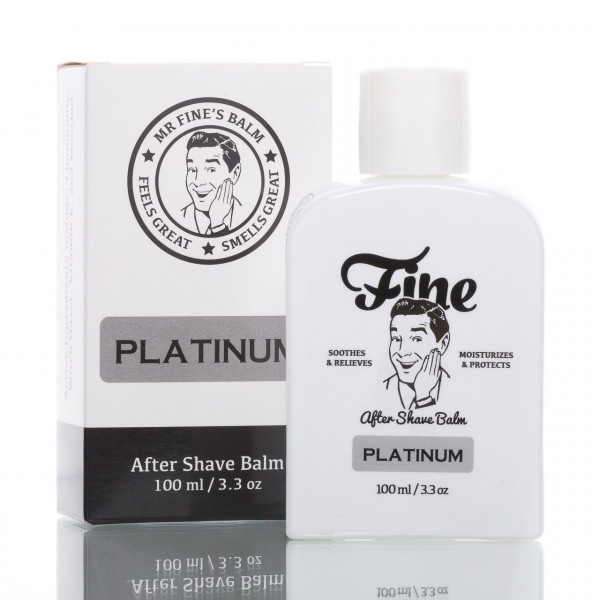 Fine After Shave Balsam Platinum 100ml 1