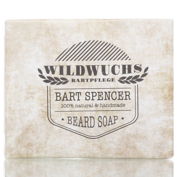 Wildwuchs Bartpflege Bartseife Bart Spencer 90g 1