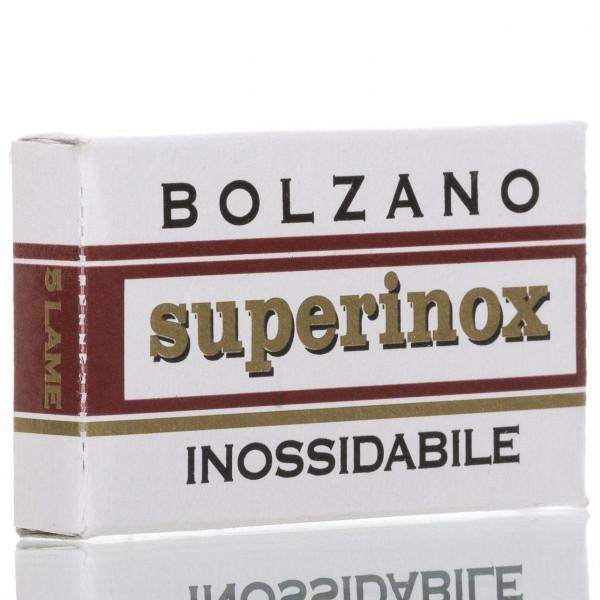 Bolzano Rasierklingen Superinox inossidabile, Double Edge (5 Stk.)