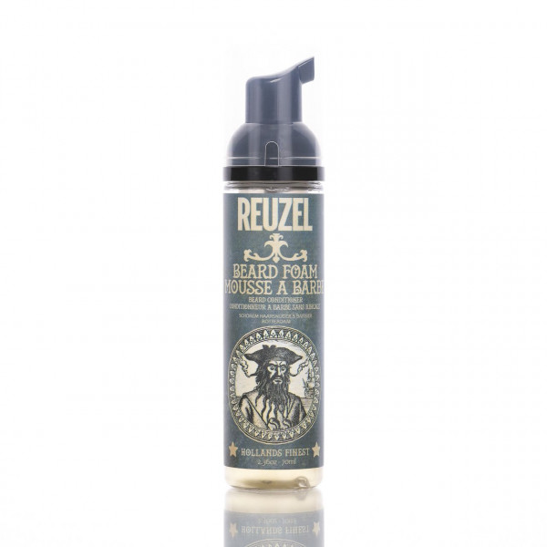 Reuzel Beard Foam 70ml Frontalansicht der Flasche