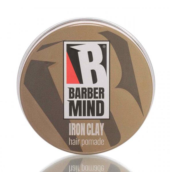 Barber Mind Pomade Iron Clay Strong Hold Matt Effect 100ml 1