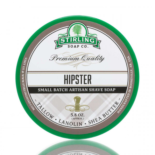 Stirling Soap Company Rasierseife Hipster 170ml 1
