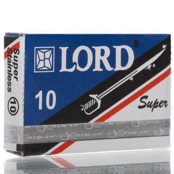 Lord Rasierklingen Super Stainless, Double Edge (10 Stk.)