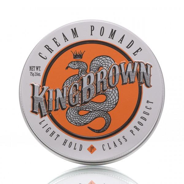 King Brown Pomade Cream Light Hold 75g 1