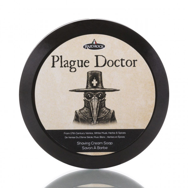 RazoRock Rasierseife Plague Doctor 150ml 1