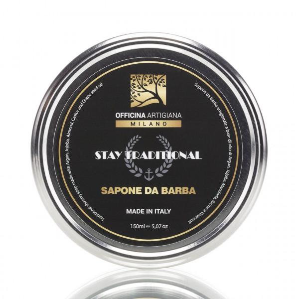 Officina Artigiana Milano Rasierseife Stay Traditional 150ml 1