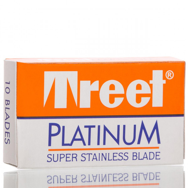 Treet Rasierklingen Platinum Super Stainless, Double Edge (10 Stk.)
