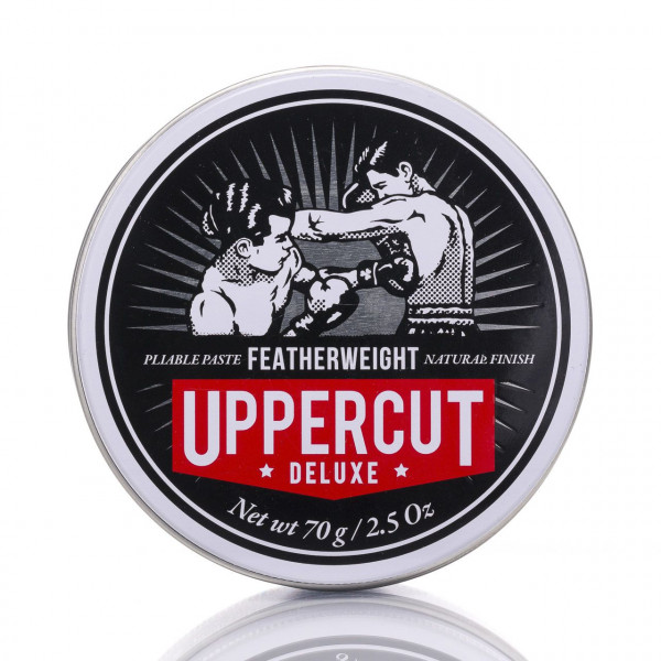 Uppercut Deluxe Haarcreme Featherweight 70g Frontalansicht der Dose