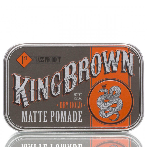King Brown Pomade Matte Dry Hold 71g 1