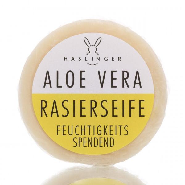 Haslinger Seifen & Kosmetik Rasierseife Aloe Vera 60g