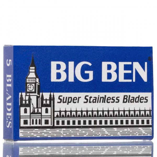 Lord Rasierklingen Big Ben Super Stainless, Double Edge (5 Stk.)
