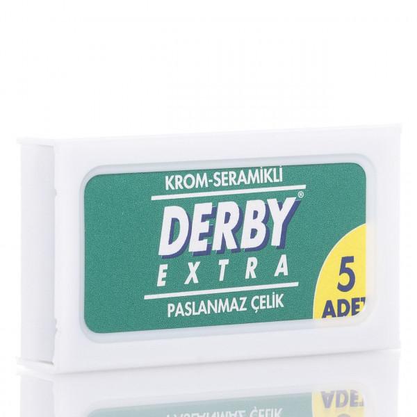 Derby Rasierklingen Extra, Double Edge (5 Stk.)