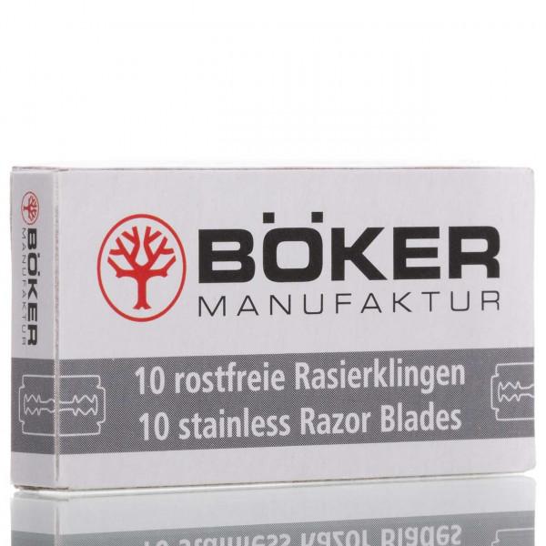 Böker Manufaktur Solingen Rasierklingen Stainless, Double Edge (10 Stk.)