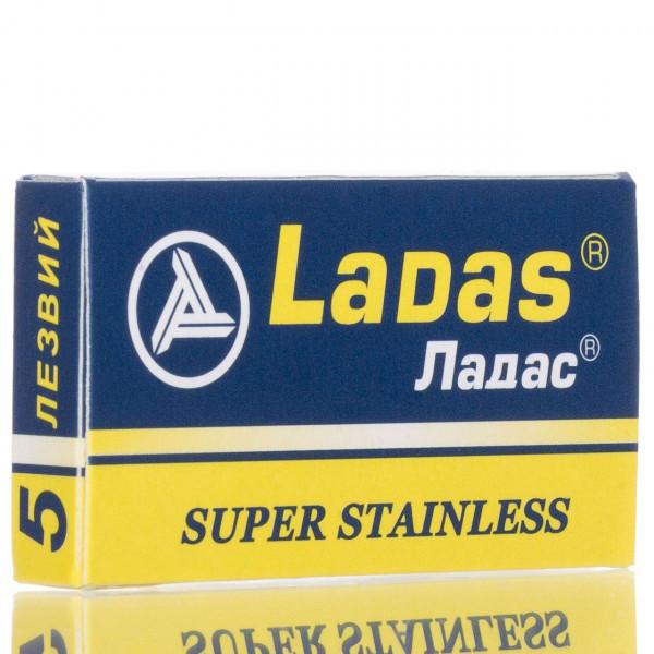 Rapira Rasierklingen Ladas Super Stainless, Double Edge (5 Stk.)