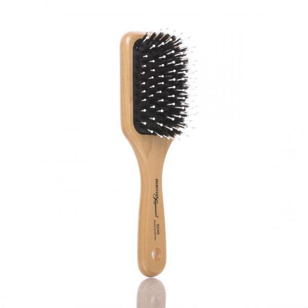 Hercules Sägemann Haarbürste 9246 8-reihig (hell) Ansicht der Bürste leicht schräg