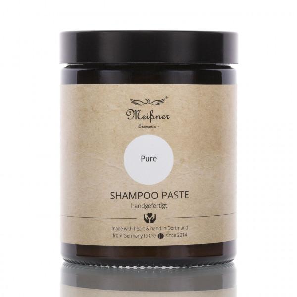 Meißner Tremonia Shampoo Paste Pur 180ml Frontalansicht der Dose