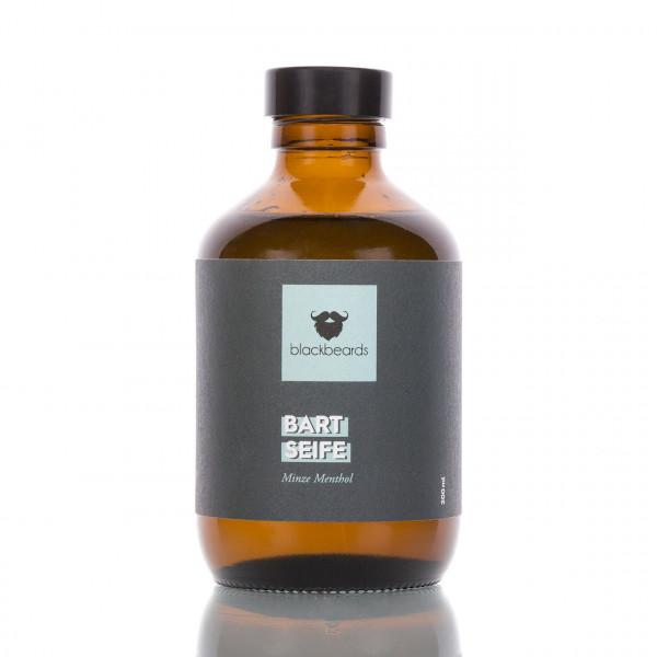 blackbeards Bartseife Minze Menthol 200ml