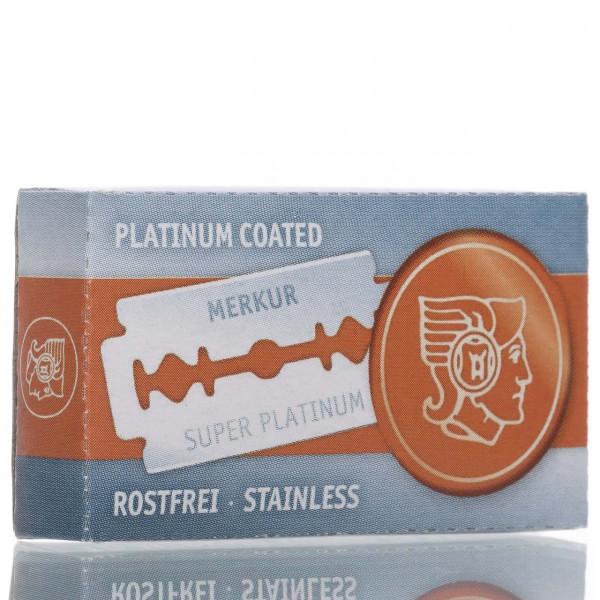 Merkur Solingen Rasierklingen Super Platinum Stainless, Double Edge (10 Stk.)