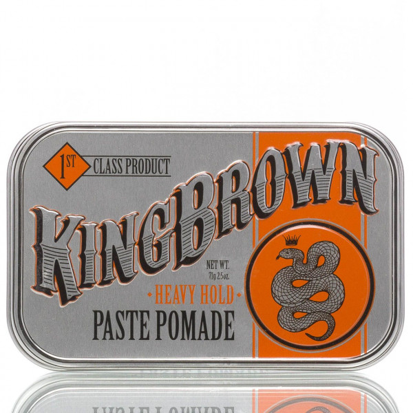 King Brown Pomade Paste Heavy Hold 71g 1