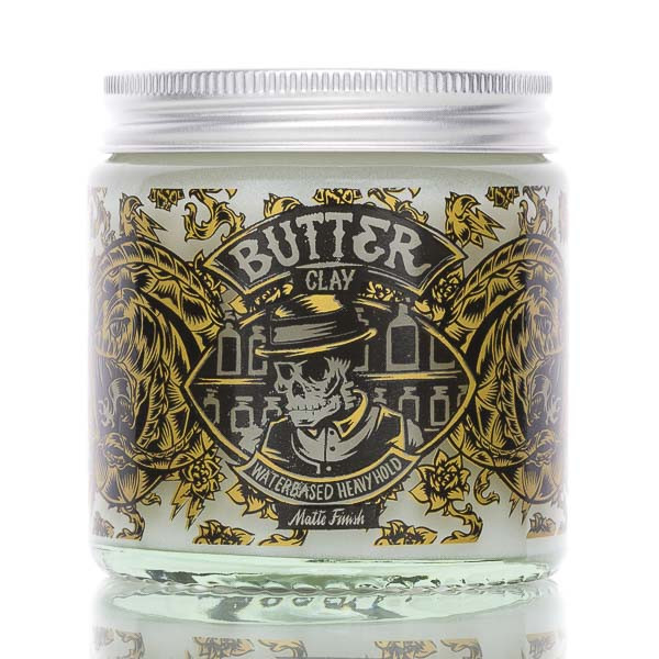 Pan Drwal Pomade Butter Clay Heavyhold 120g