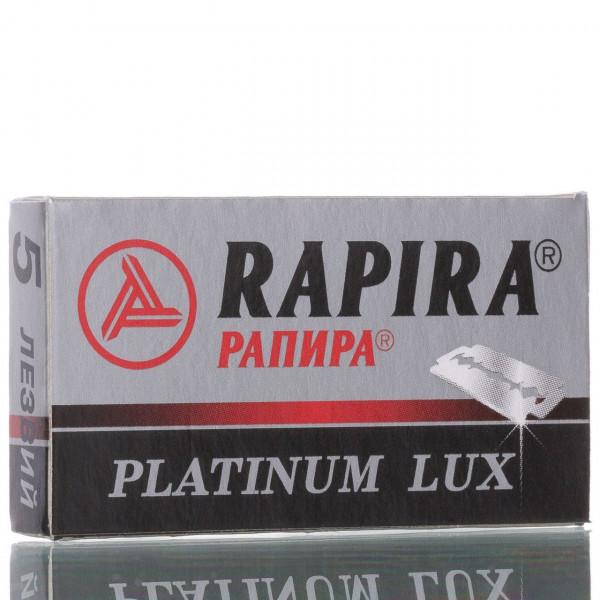 Rapira Rasierklingen Platinum Lux, Double Edge (5 Stk.)