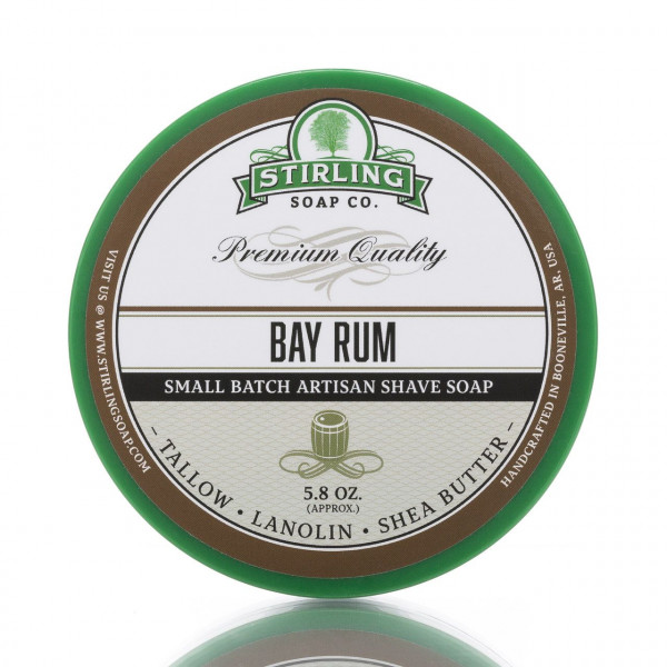 Stirling Soap Company Rasierseife Bay Rum 170ml 1