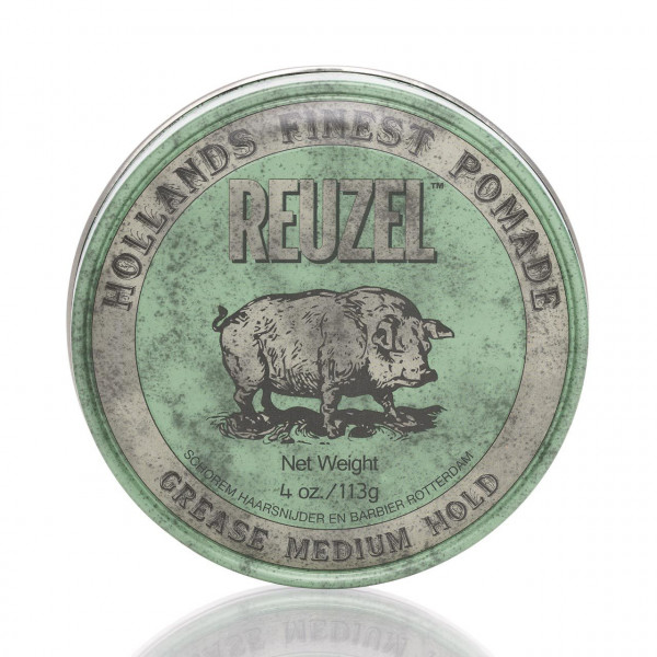 Reuzel Pomade Green - Grease Medium Hold 113g 1