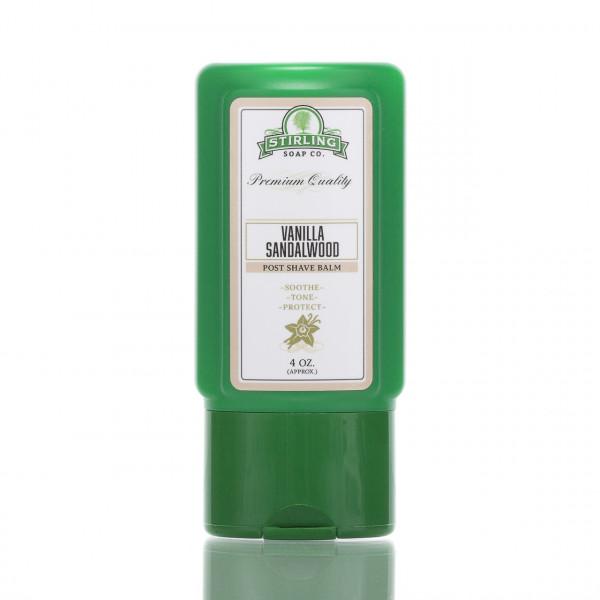 Stirling Soap Company After Shave Balsam Vanille & Sandelholz 118ml
