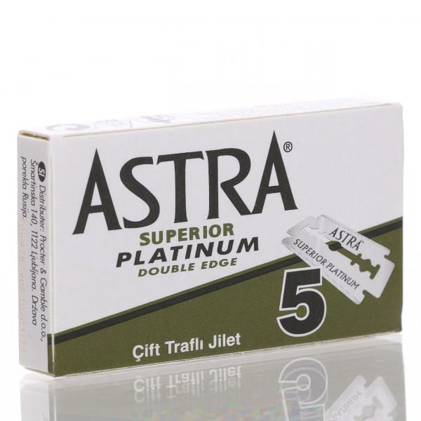 Astra Rasierklingen Superior Platinum, Double Edge (5 Stk.)
