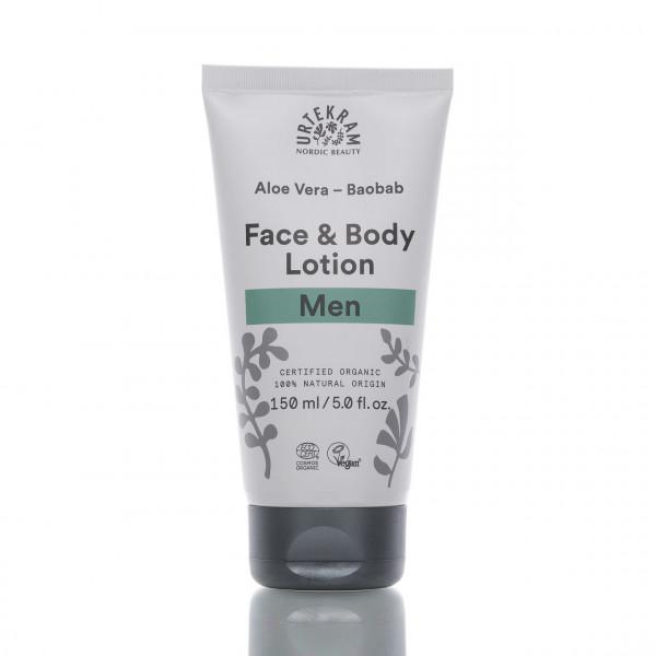 Urtekram Lotion für Gesicht & Körper Men 150ml