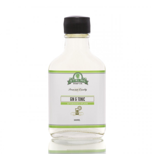 Stirling Soap Company After Shave Rasierwasser Gin & Tonic on the rocks 100ml