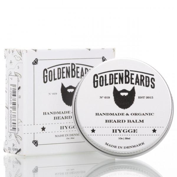 Golden Beards Beard Balm Hygge 30ml mit Verpackung