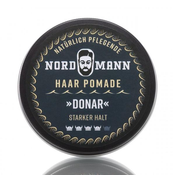Nordmann Haarpflege Pomade Donar 130ml Frontalansicht der Dose