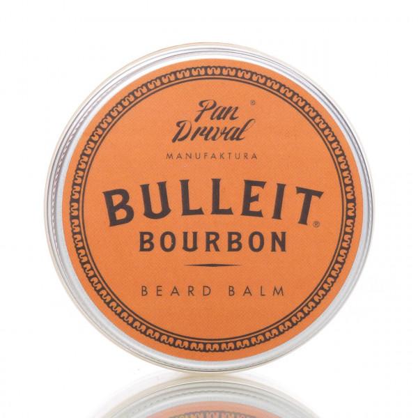 Pan Drwal Bartbalsam Bulleit Bourbon 45g Frontalansicht Dose