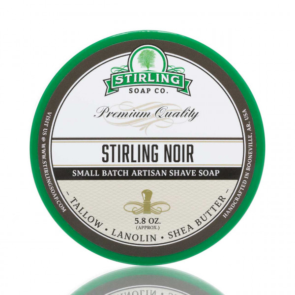Stirling Soap Company Rasierseife Stirling Noir 170ml 1