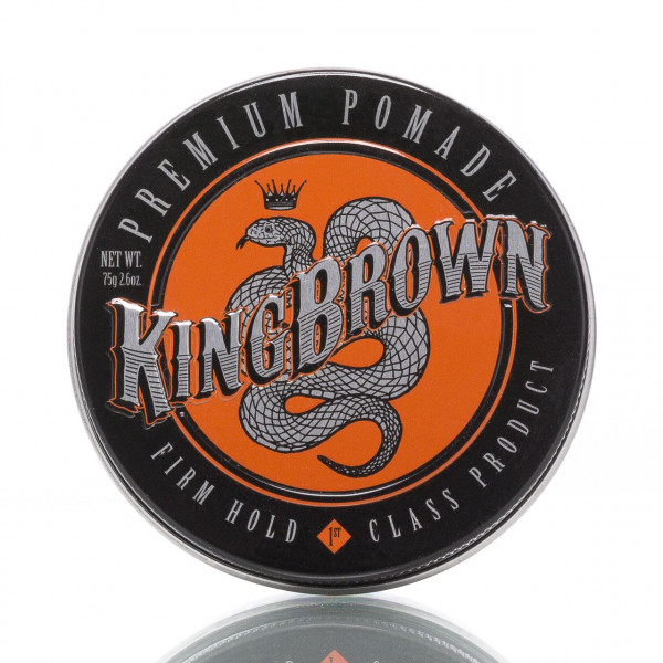 King Brown Pomade Premium Firm Hold 75g 1