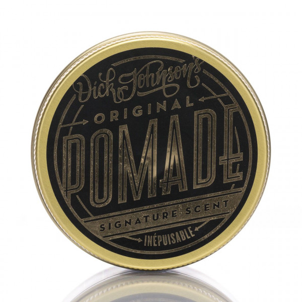 Dick Johnson´s Pomade Inepuisable 100ml Frontalansicht der Dose
