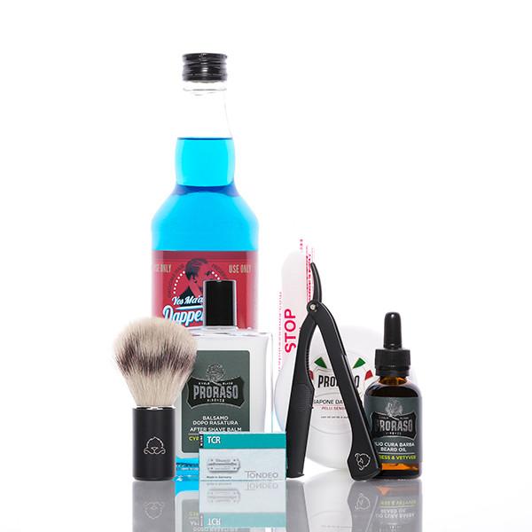 blackbeards Rasier Set Barber's Delight 1