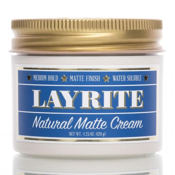 Layrite Pomade Natural Matte Cream 120g