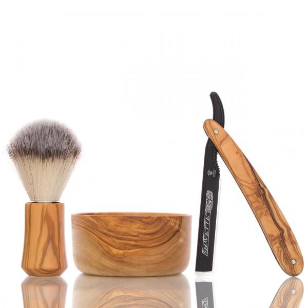 blackbeards Rasier Set Edle Hölzer 1