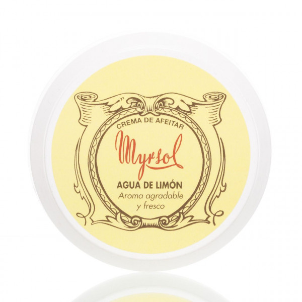 Myrsol Rasiercreme Agua de Limón 150g 1