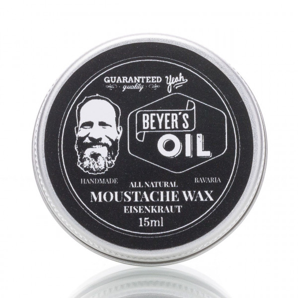 Beyer's Oil Bartwichse Eisenkraut 15ml 1